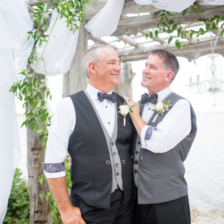 Jack & Robert's Nags Head Wedding | Outer Banks Wedding Planner