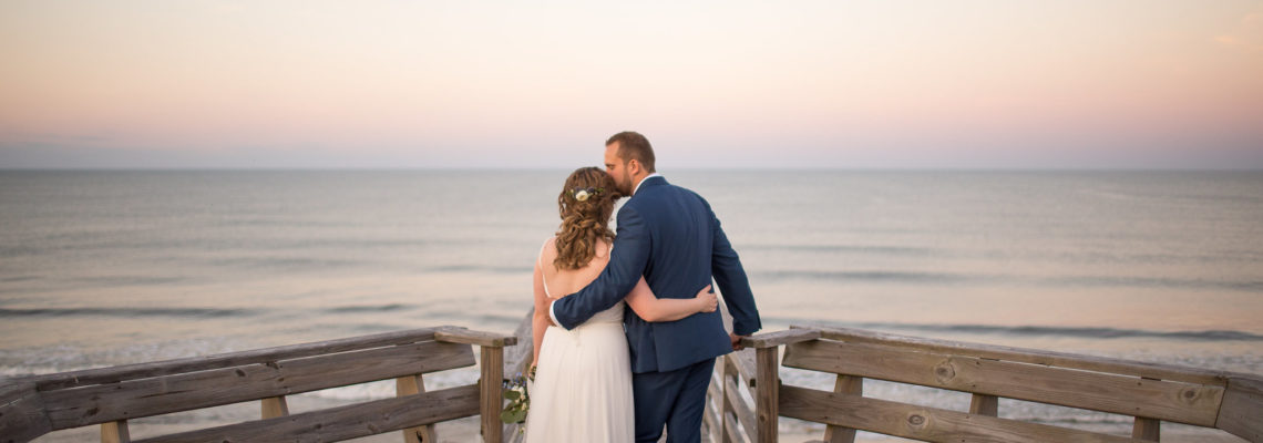Liz & Dave's Summer Moon Wedding | Corolla Wedding Planner