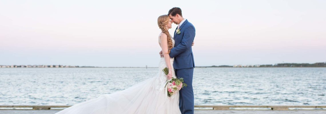 Shannon & Logan's Roanoke Island Festival Park Wedding | Manteo Wedding Planner