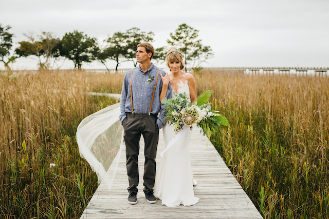 Boho Estate Wedding | Kelly & Riley | Mann's Harbor Wedding