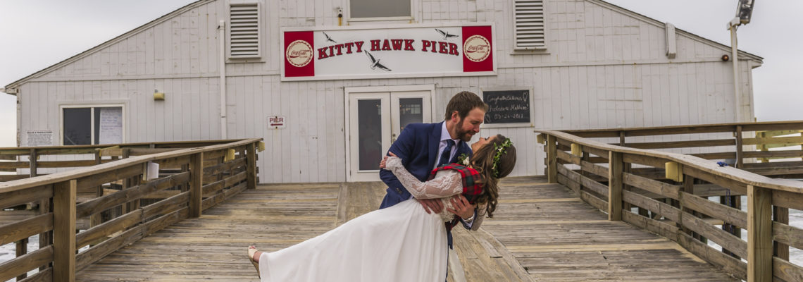 Kitty Hawk Pier Wedding | Chelsea & Mathias | Kitty Hawk Wedding