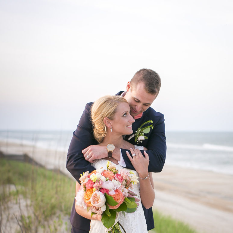 Sound to Sea Beach Club Wedding | Allison & Hunter | Corolla Wedding