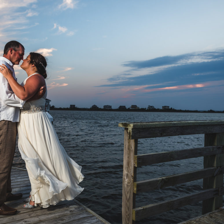Kill Devil Hills Event Home Wedding | Ivy & Bill | Kill Devil Hills Wedding