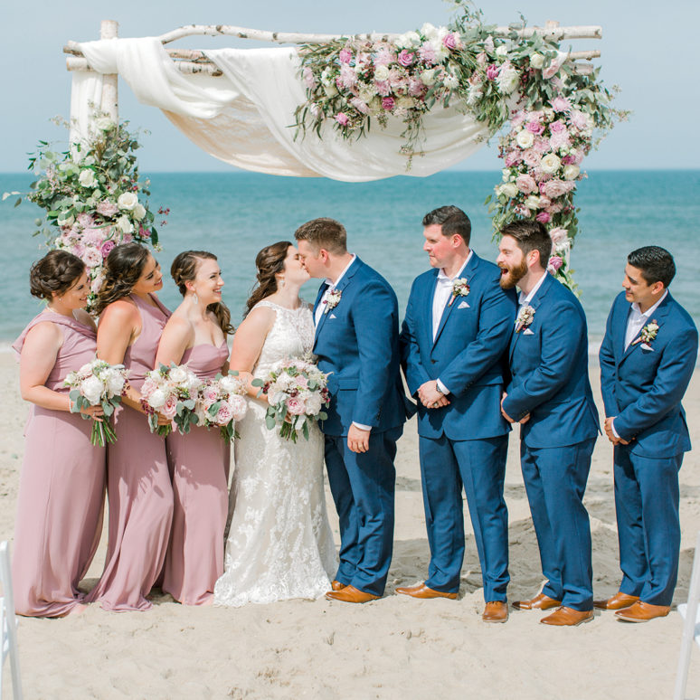 Nags Head Event Home Wedding | Erin & Jack | Nags Head Wedding