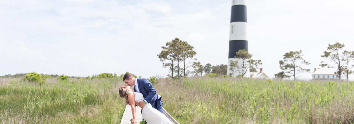 Nags Head Event Home Wedding | Katie & Mike | Nags Head Wedding