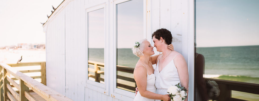 Kitty Hawk Pier Wedding | Cait & Stacy | Kitty Hawk Wedding