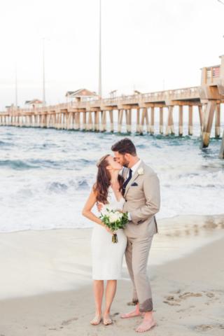 Jennettes Pier Wedding