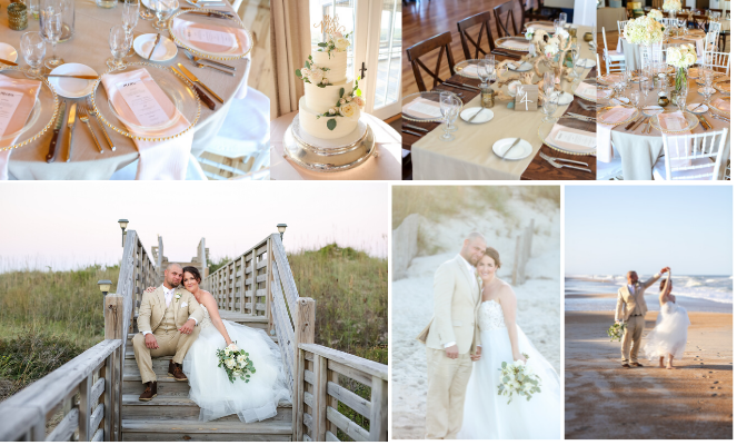Pine Island Lodge Wedding | Colleen & Pete | Corolla Wedding