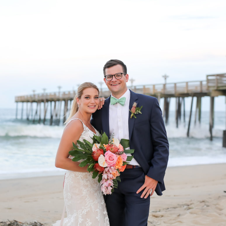 Kitty Hawk Pier Wedding | Sarah & Pat | Kitty Hawk Wedding