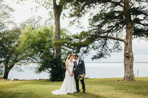 Flyway Lodge Wedding | Sara & Andrew | Knotts Island Wedding