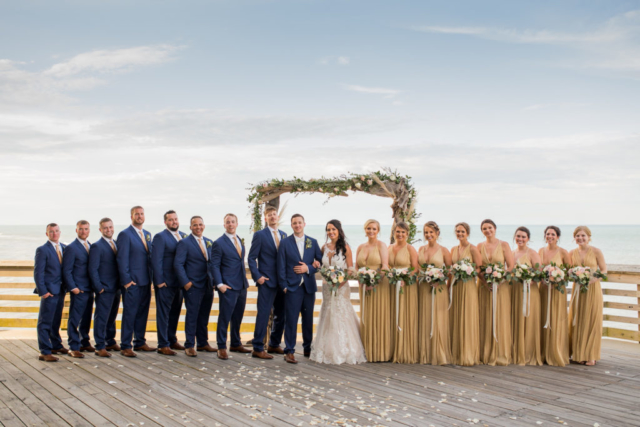 Jennette's Pier Wedding