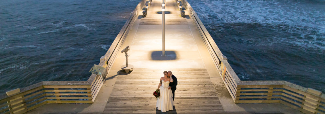 Jennette's Pier Wedding | Jenell & Jeremy | Nags Head Wedding