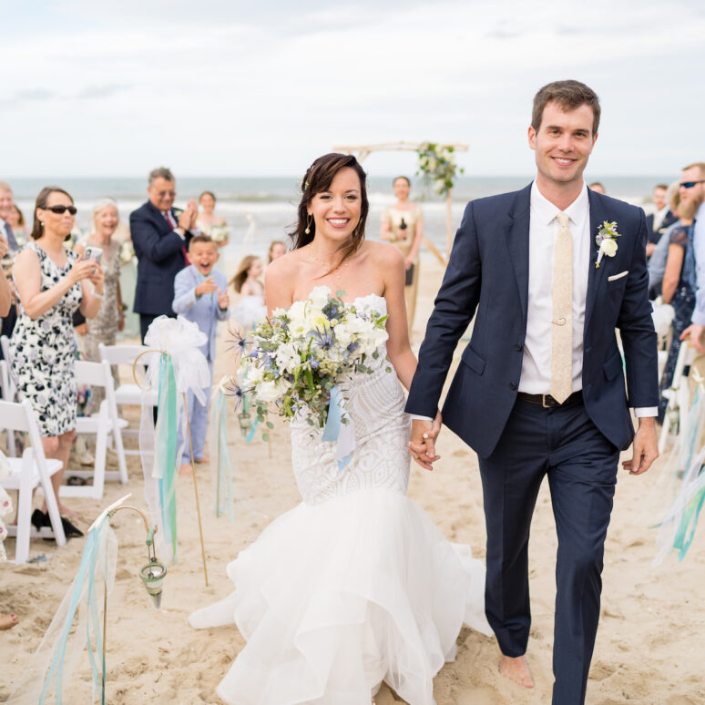 Sound to Sea Beach Club Wedding | Johnna & Scott | Corolla Wedding