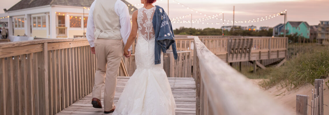 Village Beach Club Wedding | Ally & Adam | Nags Head Wedding