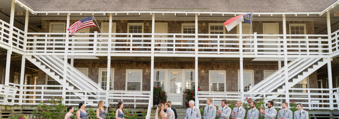 First Colony Inn Wedding | Emily & Coleman | Nags Head Wedding