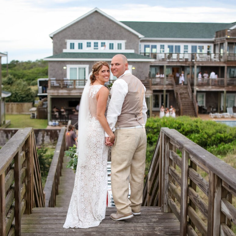 Pine Island Lodge Wedding | Amy & Jacob | Corolla Wedding