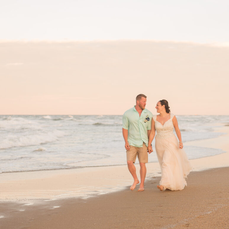 Atlantis Event Home Wedding | Katie & Rollin | Kill Devil Hills Wedding